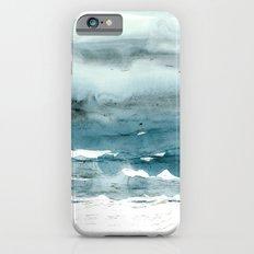 dissolving blues iPhone 6s Slim Case