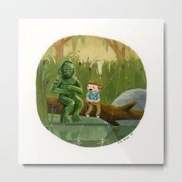 Swamp Monster  Metal Print