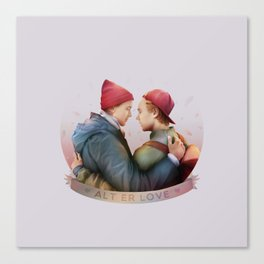 ALT ER LOVE Canvas Print