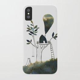 Tiny Tree House iPhone Case