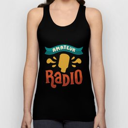 Ham Radio Gifts: Amateur Radio Unisex Tank Top