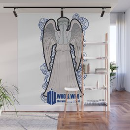 Doctor Who: Who's Who, the weeping angel Wall Mural