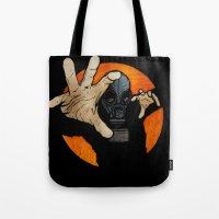 hocus pocus Tote Bags featuring Hocus Pocus V2 by Matthew Dunn