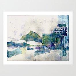 Lost City  Art Print