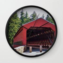 Sachs Covered Bridge 3 Wall Clock