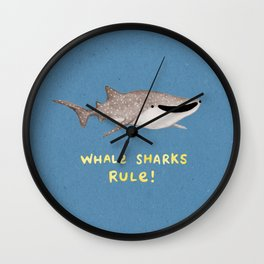 Whale Sharks Rule! Wall Clock