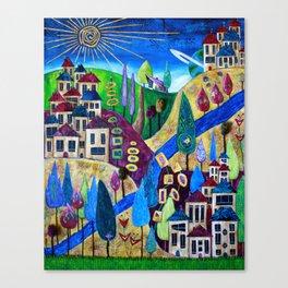 Delphi 4 Canvas Print