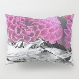 Ice Capped Dahlias Pillow Sham