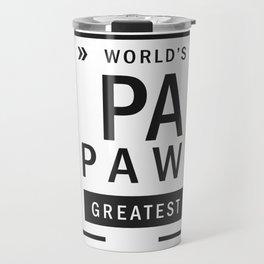 Best Papaw Greatest Travel Mug