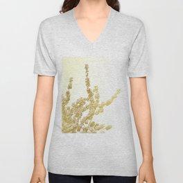 Sunlit Cherry Blossoms - Dreamy Floral Photography - Flower Art Prints, Apparel, Accessories... Unisex V-Neck