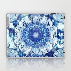 Blue Poppy Mandalas Laptop & iPad Skin