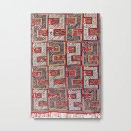 Dragon Verneh Azerbaijan South Caucasus Rug 1833 Metal Print