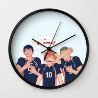 viria Wall Clocks featuring impressed  by viria