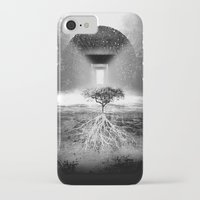 tree of life iPhone & iPod Cases featuring Life Tree by Murat Erturk
