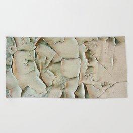 Dying wall Beach Towel