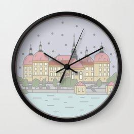 Castle Moritzburg Saxony - Cinderella Wall Clock