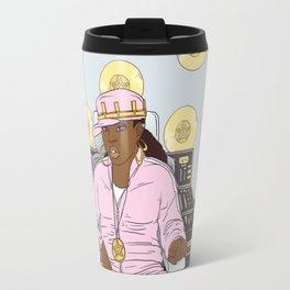 Queen of Pentacles - Missy Elliott Travel Mug