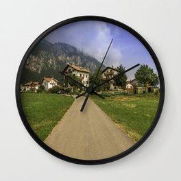 The beautiful Dolomites Wall Clock