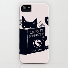 World Domination For Cats iPhone (5, 5s) Slim Case