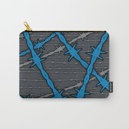 Barbed ELECTRIC BLUE Carry-All Pouch