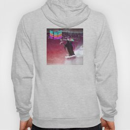 Death surfing wave Hoody