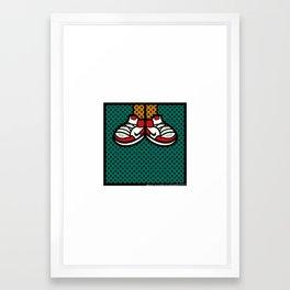 AIR JORDAN 1 Framed Art Print