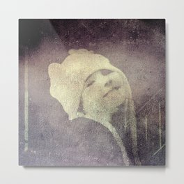 Winter Hat Metal Print