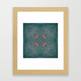 magic mandala 34 #mandala #magic #decor Framed Art Print
