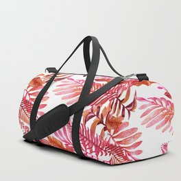 red tropical nature Duffle Bag