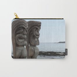 Hawaiian Tikis Carry-All Pouch
