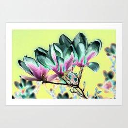 MAGNOLIA - PopArt Art Print