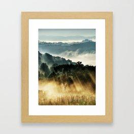 Morninglow Framed Art Print
