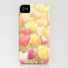 life isn't a tiptoe through the tulips ... Slim Case iPhone (4, 4s)