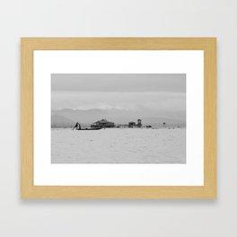 Inle Lake, Myanmar Framed Art Print