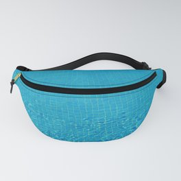 turquoise water love Fanny Pack