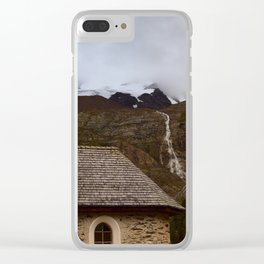 Chapel in the Alps Clear iPhone Case