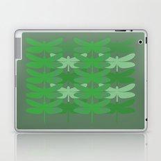 green dragonflies Laptop & iPad Skin