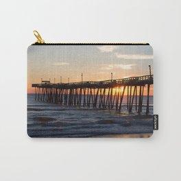 Rodanthe Pier Sunrise Carry-All Pouch