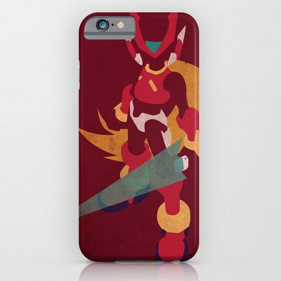 Megaman Zero iPhone & iPod Case
