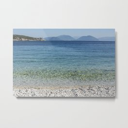 Sea in Greece Metal Print