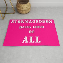 Doctor Who: Stormageddon Dark Lord of All Rug