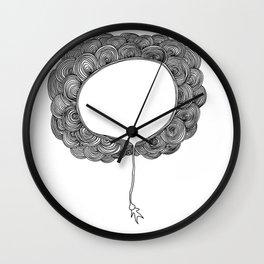 drain Wall Clock