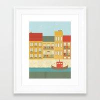 portugal Framed Art Prints featuring Portugal by Kakel