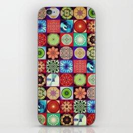 Mandala Patchwork iPhone Skin