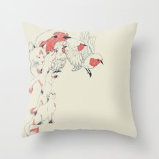 Non Wind-Up Robin Throw Pillow