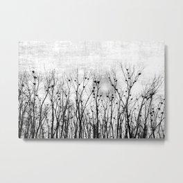 Home, Sweet Home (grayscale) Metal Print