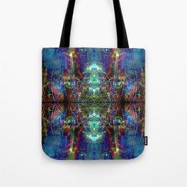 Trippy Kalidescope Pattern Tote Bag