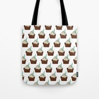 cake Tote Bags featuring Cake by elyinspira