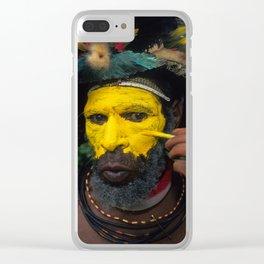Papua New Guinea Adventure Clear iPhone Case