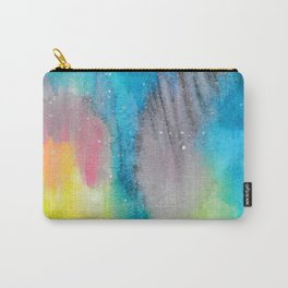 Northern Lights and Starry Sky Carry-All Pouch